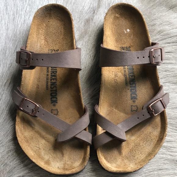 90919c01f74 Birkenstock Shoes - Birkenstock Mayari Mocha Sandals 38 Regular